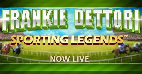 Frankie Dettori Sporting Legends from Playtech