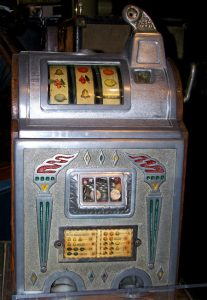 Old slot machine