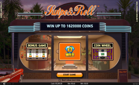 Swipe and Roll Slot NetEnt